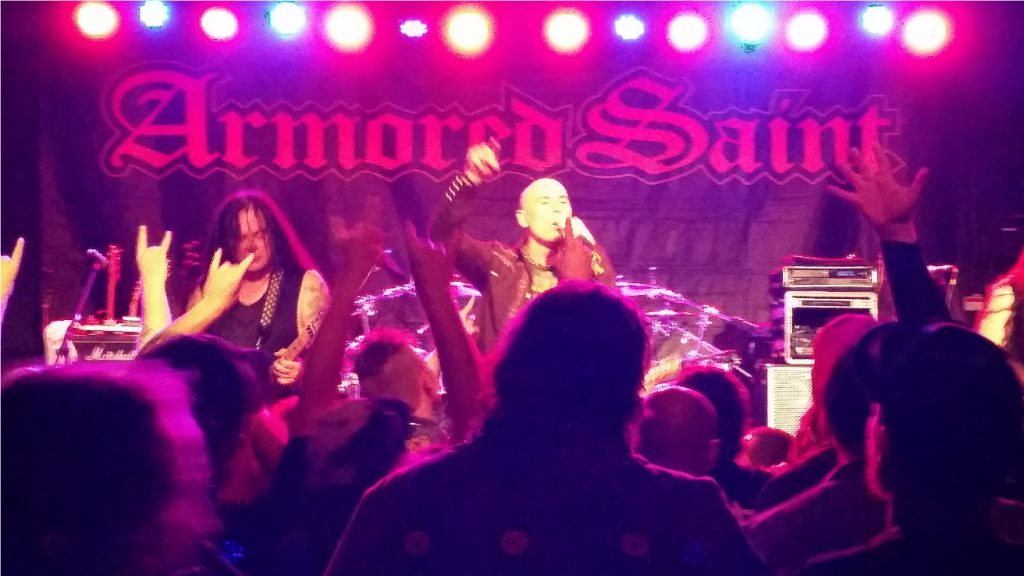 Armored Saint Metal Church Portland Oregon 6-11-16